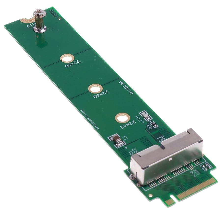達成可能ゆりかごライブbaoblaze SSD to M。2?PCI M - Keyアダプタカードfor Apple MacBook Air a1398?a1502?2013
