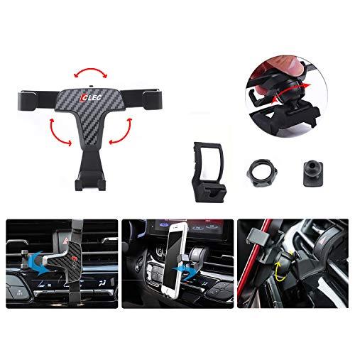 LFOTPP Supporto Cellulare Auto per C-HR, CHR Auto Accessori Supporto per Presa d'Aria, Titolare Fibra di Carbonio per Telefono da 3,5 a 6,5 Pollici