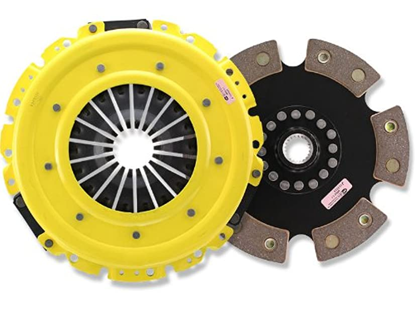ACT SB2-HDR6 HD Pressure Plate with Race Rigid 6-Pad Clutch Disc