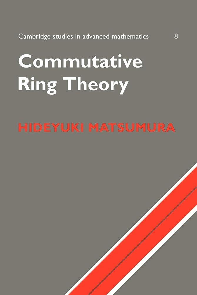 すり適格セクションCommutative Ring Theory (Cambridge Studies in Advanced Mathematics)