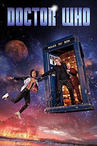 Diy 5D Kits De Pintura De Diamantes Pintura Cristal Rhinestone Bordado Decoración Bordado De Diamantes Carteles de programas de televisión de Doctor Who 1-40X60CM