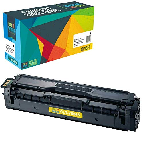 Do it Wiser Compatible Toner Cartridge Replacement for Samsung CLT-Y504S CLP-415 CLP-415N CLP-415NW CLX-4195FW CLX-4195N CLP-470 CLP-475 CLX-4170 SL-C1810W Xpress C1860FW - Yellow