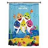 Franco Kids Bathroom Decorative Fabric Shower Curtain, 72