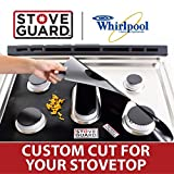 Whirlpool Stove Protectors - Stove Top Protector for Whirlpool Gas Ranges - Ultra Thin, Easy Clean...