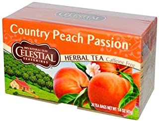 Celestial Seasonings Herbal Tea,Country Peach Passion, (2 Pack)