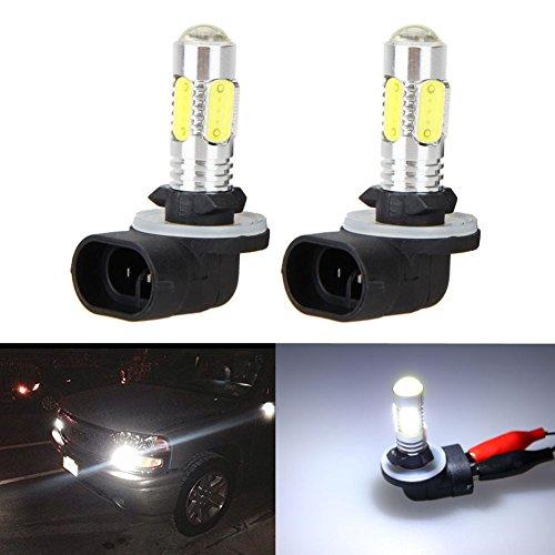 XT AUTO 2x 6000K White High Power 881 886 889 894 COB LED Fog Driving Light Bulbs
