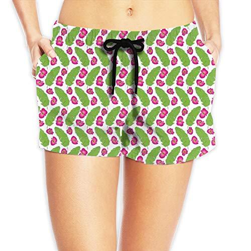 niBBuns Pantalones cortos deportivos de secado rápido para mujer, con bolsillo con cremallera, Nibbuns-6084, XL