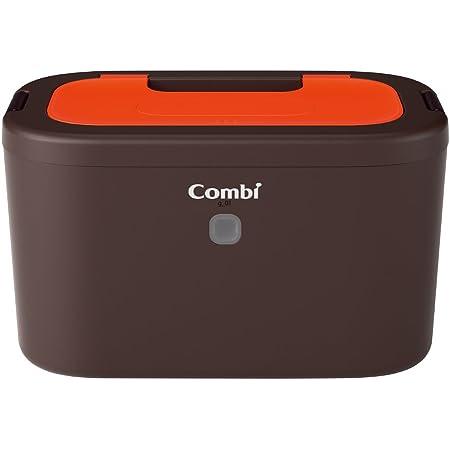 コンビ Combi おしり拭きあたため器 クイックウォーマー LED+ネオンオレンジ 上から温めるトップウォーマーシステム