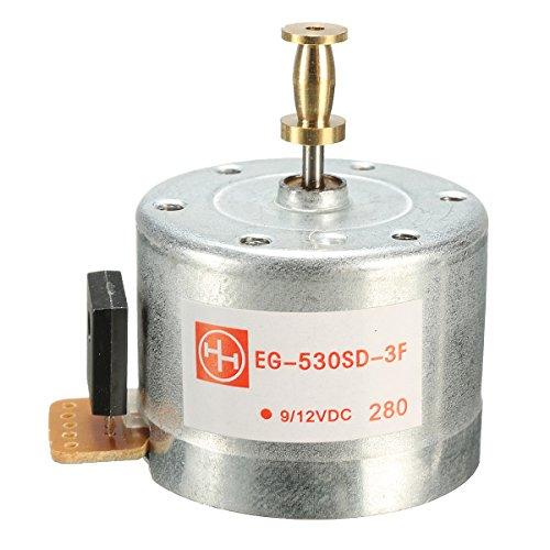 GOZAR 78Rpm 33/45 Dc9-12 V 3-speed platenspeler motor 25 mm bevestigingsgaten