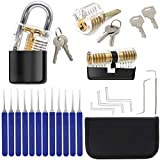 West Bay DIYS Stainless Steel Multitool Lock Sets, 3 L ocks + 17 Tools for Gifts