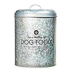 metal pet food storage bins