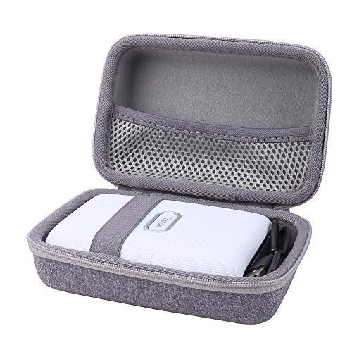 Aenllosi Hard Carrying Case Compatible with Fujifilm Instax Mini Link Smartphone Printer (Grey)
