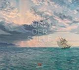 Die Kunst der Stille 2020, Wandkalender im Querformat (54x48 cm) - Kunstkalender (Impressionismus) mit Monatskalendarium - Ackermann Kunstverlag