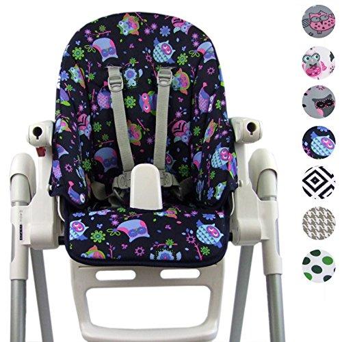 Bambiniwelt, federa di ricambio per cuscino per sedia, per Peg Perego Zero3 e Siesta Design.