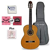 Antonio Giuliani Classical Rosewood Guitar Outfit (Clear) (CL-6) - Acoustic Guitar with Case and Accessories By Kennedy Violins