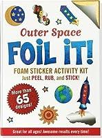 Outer Space Foil It! (foam sticker activity kit) by Peter Pauper Press(2013-09-01)