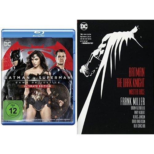 Batman v Superman: Dawn of Justice – Ultimate Edition [Blu-ray] + Batman: The Dark Knight: Master Race (Batman Dark Knight)