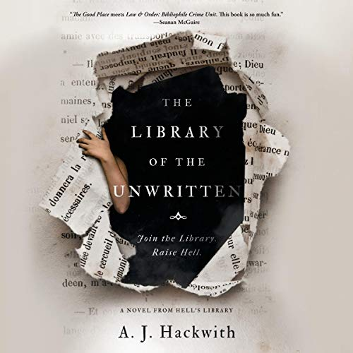 The Library of the Unwritten audiobook cover art