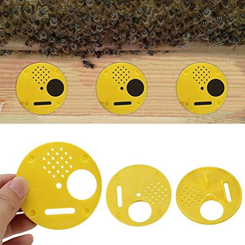 ROSEBEAR 12 Pezzi/Set Plastica Alveare Nuc Box Cancelli D'ingresso Attrezzatura per Apicoltura Strumento per Alveare Strumento per Apicoltore