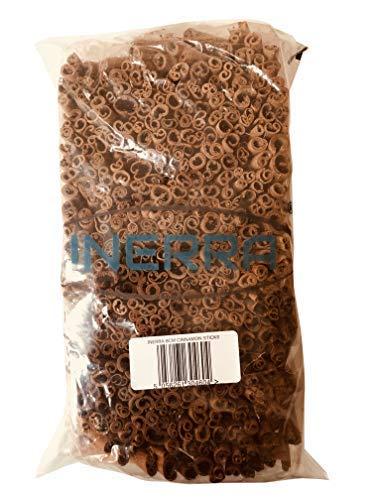 INERRA 8cm Bastoncini di Cannella - Naturale Secchi Bastoncini per Ghirlande di Natale Alberi Potpourri Fioraio Decorazione - Naturale Cannella, 50 Grams