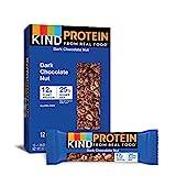 KIND Protein Bars, Dark Chocolate Nut, Gluten Free, 12g Protein,1.76 Ounce, 12 count