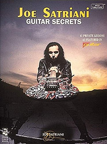 Joe Satriani: Guitar Secrets (Tablature): Songbook, Tabulatur für Gitarre