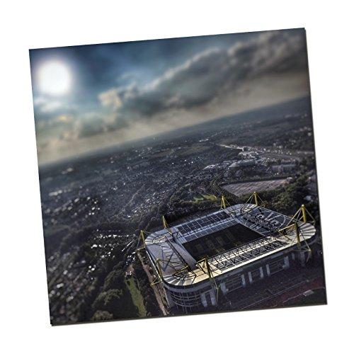 Borussia Dortmund BVB-Kunstdruck Stadion 50x50 cm one Size
