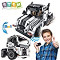 STEM Building Toys for Boys & Girls | 2 in 1 Remote Control Building Kit  | Build a Semi -Truck/Cab Over | Early Learning Technic Building Blocks RC Kit | Best Gift for 7-12 Years Old Kids