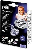 Braun Thermoscan - Termómetro para oído, filtros de lente LF40,...