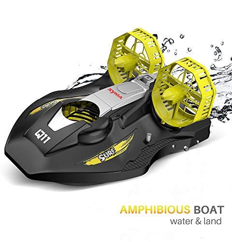 SYMA RC Boot 2.4GHz Fernbedienung Schnell Boot Spielzeug Q11 Boot mit Starker Kraft Geschenk für Anfänger und Kinder