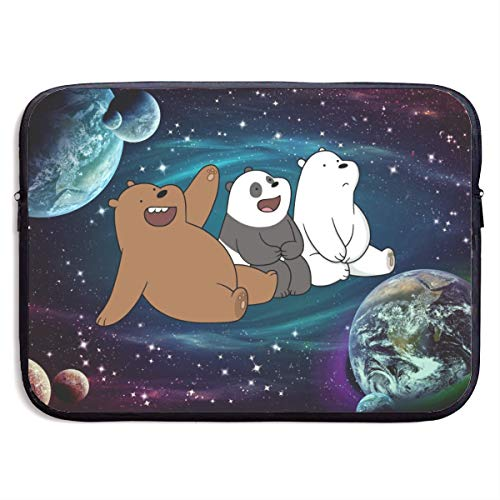 Starry We Bare Bears Laptop Sleeve Bag 15 inch Computer Case Tablet Briefcase Ultra Portable Protective