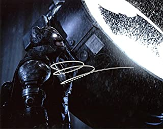 Ben Affleck BATMAN VS SUPERMAN In Person Autographed Photo #3