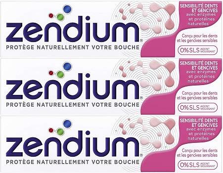 Zendium Sensitiv Zahncreme 75ml, 3er Pack (3x 75ml)