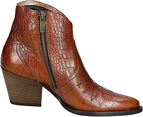 Paul Green 9666 Damen Stiefelette Cognac, EU 37