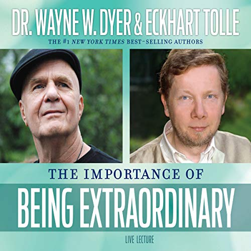 The Importance of Being Extraordinary audiobook cover art