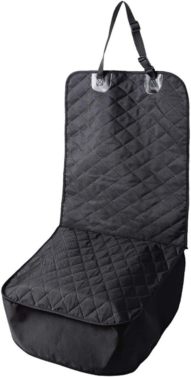 Pet Front Seat Cover, Dog Car Seat Covers Nonslip Rubber Backing Quilted Padded Durable Dog Seat Covers for Cars,Trucks & SUVs