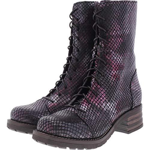Brako / Modell: Military Tay/Burdeos Metallic Leder/Stiefel/Art: 8470 / Damen Stiefel Größe 37 EU