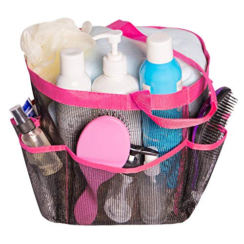 Attmu Oxford Mesh Shower Caddy, Shower Tote, Shower Bag,...