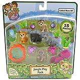 Jungle In My Pocket Jungle Play - Pack de 15 piezas  B