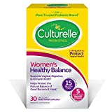 Culturelle Womens Healthy Balance Probiotic for Women | 30 Count | with Probiotic Strains to Support Digestive, Immune and Vaginal Health* | with The Proven Effective Probiotic | Packaging May Vary
