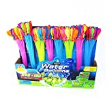 Toyzabo Water Balloons Quick Fill Bunch of Water Balloons Bulk Water Toys Rapid...