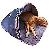Hanson MasteryHundeschlafsack Winter Katzenschlafsack Warme Haustier-Schlafsack Haustierbett Waschbar Wetterfester Tragbar Hundehöhle