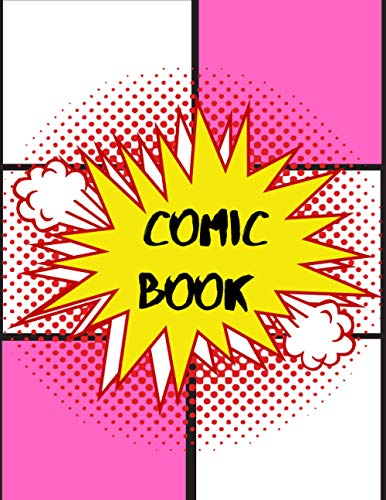 Comic Book: Variety Of Comic Templates, draw your own celtic designs ,comic book series, 120 Pages Large 8.5' x 11' . (Blank Comic Books)