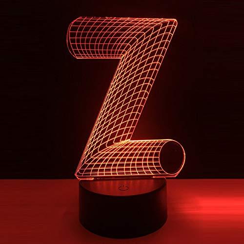 Beertje kerstmuts, 3D nachtlampje kinderen nachtlampje, 7 kleuren veranderende optische illusie kinderlamp – perfect cadeau voor jongens, meisjes voor Kerstmis, verjaardag of vakantie