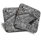 Great Coaster - Posavasos (2 unidades), diseño de Plaza Mayor de Madrid