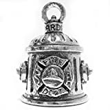 Guardian Bell Firefighter Motorcycle Biker Luck Riding Bell Fire Hydrant Key Ring