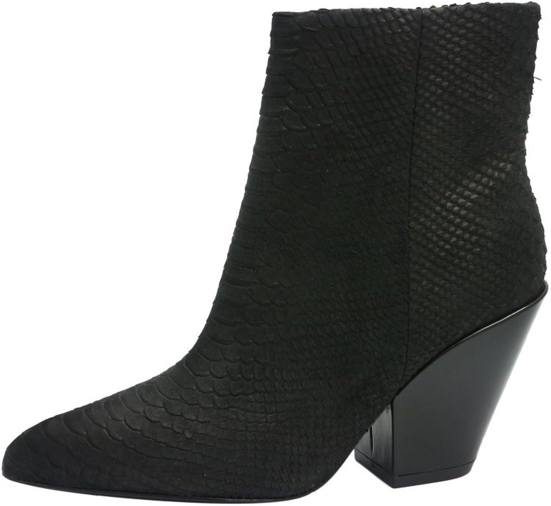 ASH Damen Stiefelette Größe 40 Schwarz Schwarz (schwarz)  erschwinglich