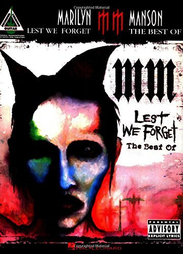 Marilyn Manson - Lest We Forget: The Best of by Marilyn Manson (2005-07-01)