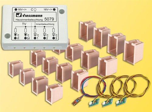 Viessmann 5079 - H0 LED-Hausinnenbeleuchtung