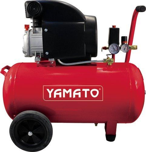COMPRESSORE YAMATO COASSIALE 50LT - 2HP aria compressa pneumatico